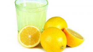 drinking-lemon-juice-for-acne