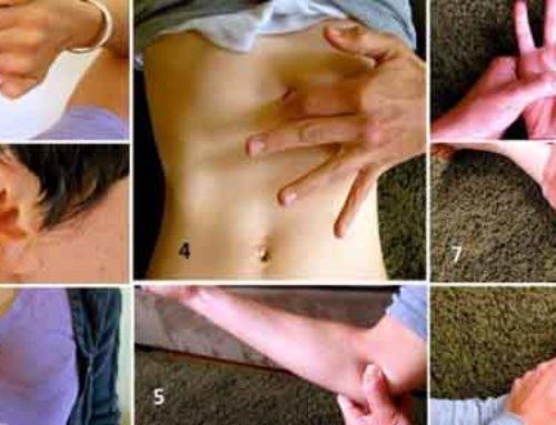စက္ကန့်ပိုင်းအတွင်း စိတ်ဖိစီးမှုကိုပြေပျောက်စေဖို့ ဖိပေးရမဲ့ နေရာ ၈ ခု