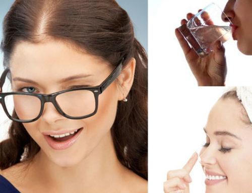 နှာခေါင်းပေါ်မှာ ထင်နေတဲ့ မျက်မှန်ရာကို သဘာဝနည်းလမ်းအတိုင်းဖယ်ရှားနည်းတွေ