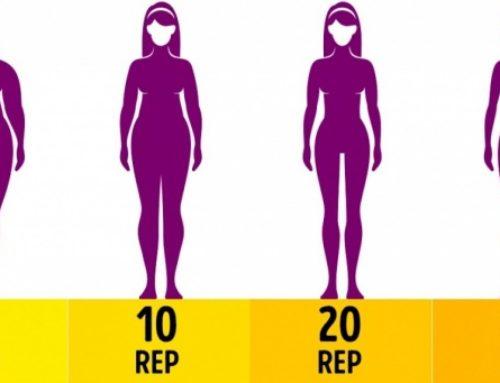 ခန္ဓာကိုယ် အချိုးအစား ကျစ်လျစ်လှပဖို့ တစ်နေ့ကို ၄ မိနစ်လောက် လေ့ကျင့်ခန်းလုပ်ရအောင်