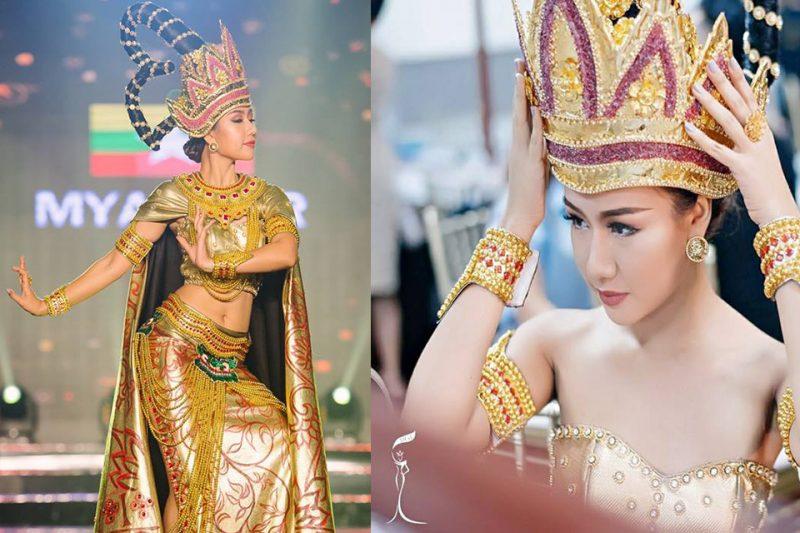 Miss Grand International ရဲ႕ အေကာင္းဆံုး National Costumes ၂၅စံု ထဲမွာ ျမန္မာက Top 10 ကပါဝင္