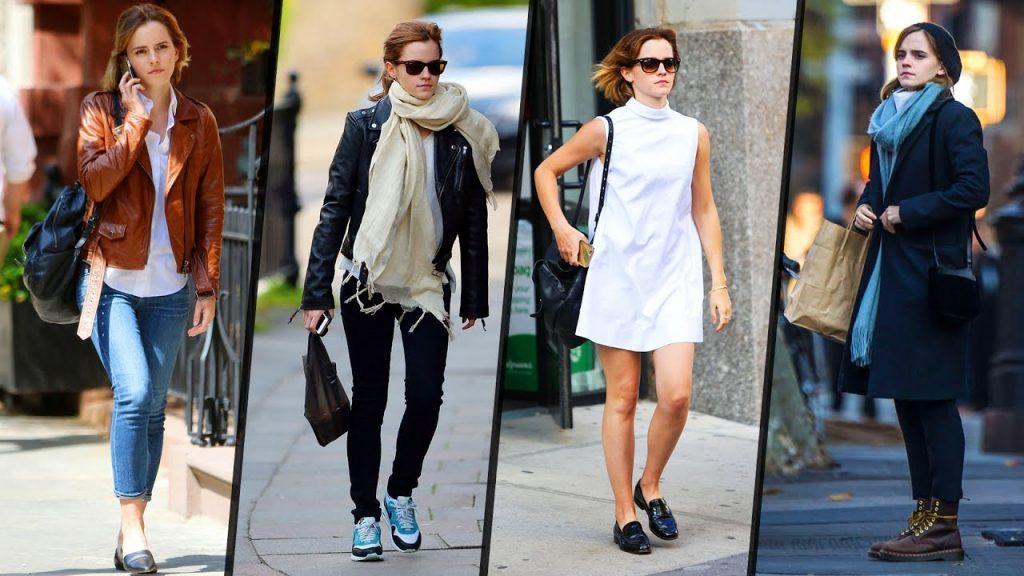 Emma Watson ရဲ႕ ေပါ့ပါးလြတ္လပ္တဲ့ ဖက္ရွင္မ်ား