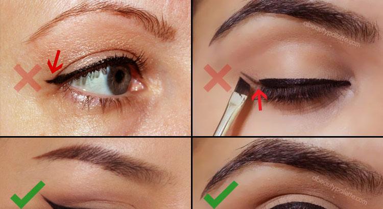 Eyeliner ဆိုးရာမွာ သင့္ကိုရုပ္ဆိုးေစတဲ့ အမွားမ်ား