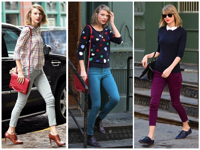 Taylor Swift ရဲ႕ Jean ဖက္ရွင္မ်ား
