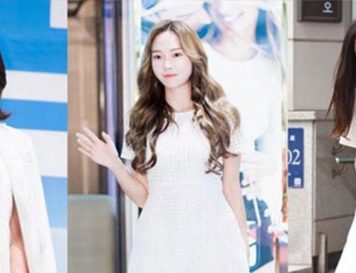 လူတိုင်းလိုက်ဝတ်လို့အဆင်ပြေမယ့် တောင်ကိုရီးယား အနုပညာရှင်တွေ ဝတ်ဆင်တဲ့ အဖြူရောင် ဖက်ရှင်များ