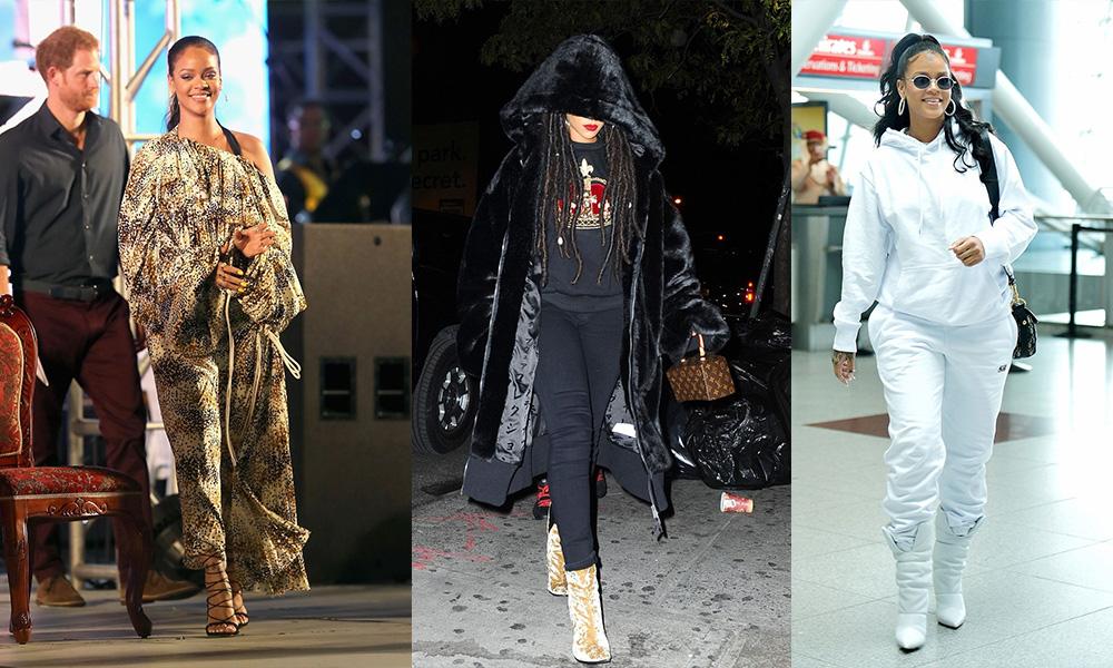 အဆိုေတာ္ Rihanna ရဲ႕ အေကာင္းဆံုး ဖက္ရွင္မ်ား