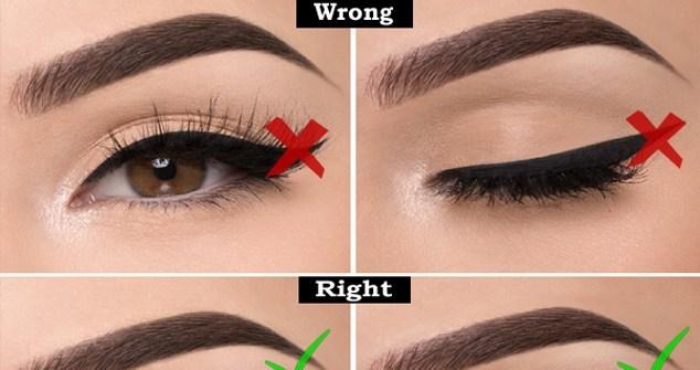 Eyeliner နဲ႔ပတ္သက္လို႔ ေရွာင္သင့္တဲ့ အမွားတခ်ိဳ႕