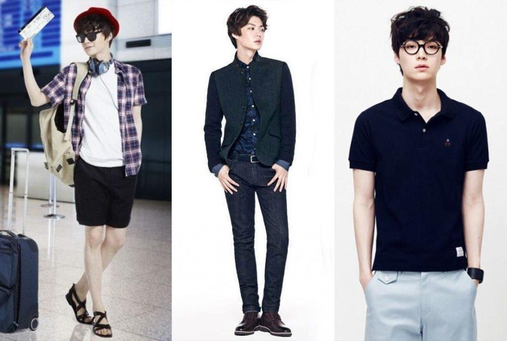 ေတာင္ကိုးရီးယား ေမာ္ဒယ္နဲ႔ သရုပ္ေဆာင္ Ahn Jae Hyun ရဲ႕ဖက္ရွင္မ်ား