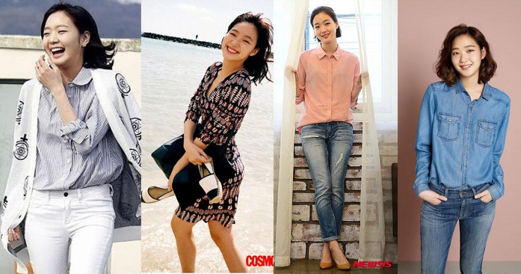 မ်က္လံုးေမွးေမွး၊ အျပစ္ကင္းတဲ့ အၿပံဳးနဲ႔ ပရိသတ္ေတြရဲ႕ အခ်စ္ကိုရရွိထားသူ မင္းသမီးေလး Kim Go Eun ရဲ႕ ဖက္ရွင္မ်ား