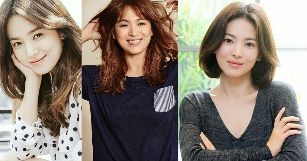 စာဖတ္သူတို႔ လိုက္ၿပီးအတုယူလို႔ရမယ့္ မင္းသမီး Song Hye Kyo ရဲ႕ ဆံပင္ပံုစံမ်ား