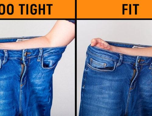 Jeans ဘောင်းဘီကို ဝတ်ကြည့်စရာမလိုဘဲ မိမိနဲ့ ကွက်တိဖြစ်တဲ့ အဝတ်အစားဝယ်ယူနိုင်ဖို့ နည်းလမ်းကောင်း (၃) သွယ်