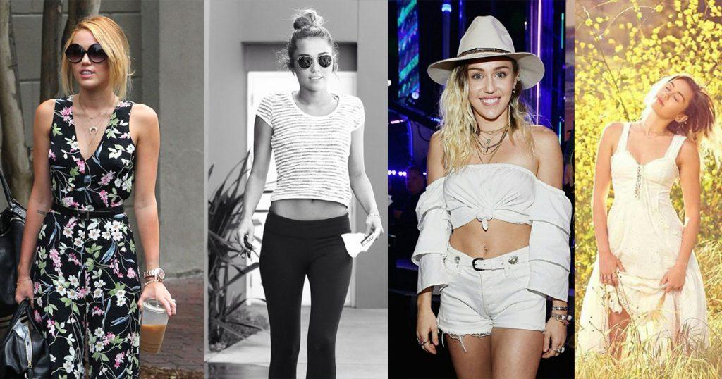 Miley Cyrus ရဲ႕ ေပါ့ေပါ့ပါးပါး ဖက္ရွင္မ်ား