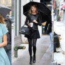 မိုးရြာတဲ့ေန႕ေတြမွာ Taylor Swift ဝတ္ဆင္ခဲ့တဲ့ ဖက္ရွင္မ်ား