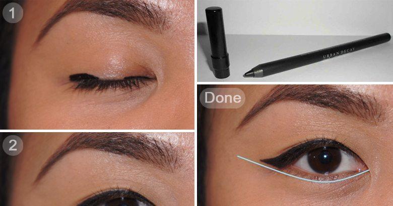 အခုမွ Eyeliner စဆြဲမယ့္သူေတြအတြက္ Eyeliner ကို ေသေသသပ္သပ္ဆြဲႏိုင္ဖို႔ ရိုးရွင္းတဲ့ နည္းလမ္း