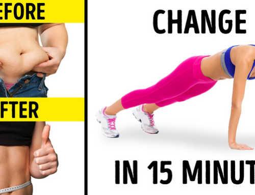 ခန္ဓာကိုယ်အချိုးအစား ပိုပြီးလှပစေမယ့် ၁၅ မိနစ်စာ လေ့ကျင့်ခန်း (၅) မျိုး