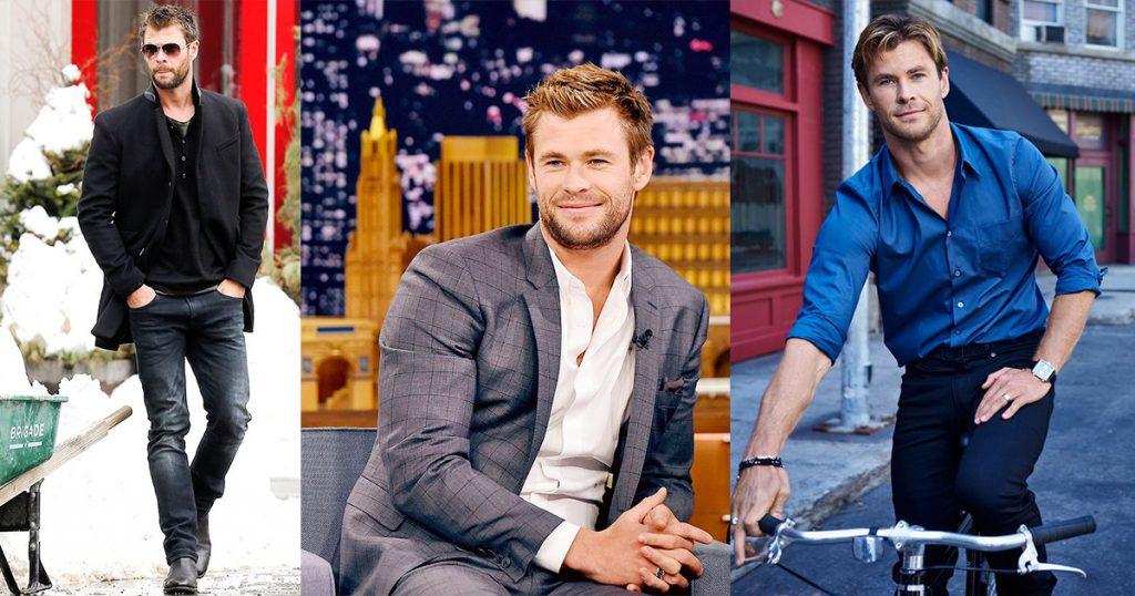 ဘာပဲဝတ်ဝတ်ကြည့်ကောင်းတဲ့ Thor (သို့) Chris Hemsworth ရဲ့ ဖက်ရှင်များ