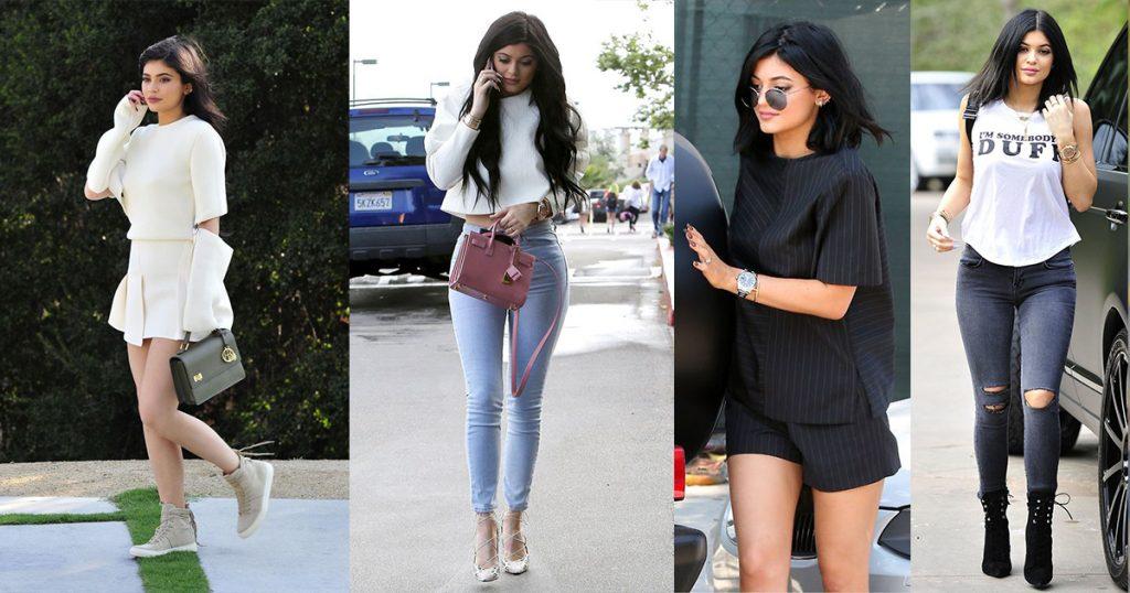 ဆြဲေဆာင္မႈရွိၿပီး ဖက္ရွင္က်တဲ့ စူပါေမာ္ဒယ္ Kylie Jenner ရဲ႕ ေပါ့ေပါ့ပါးပါးဖက္ရွင္ေလးေတြ