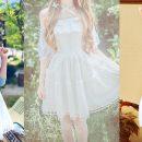 မိန္းကေလးေတြအားလံုးနဲ႔လိုက္ဖက္တဲ့ အျဖဴေရာင္ Dress ဖက္ရွင္ေလးေတြ