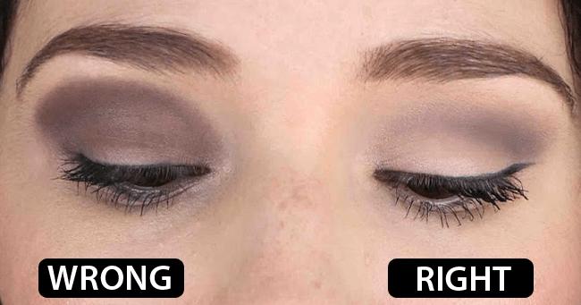 တျခားသူေတြလို Eyeshadow လွလွေလး ျဖစ္မေနရတဲ့ အေၾကာင္းရင္း (၆) ခု