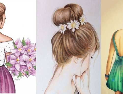 လှပတဲ့ပန်းချီကားလေးတွေထဲက မိန်းကလေးတိုင်းနှစ်သက်မယ့် ချစ်စရာ ဆံပင်ပုံလေးတွေ