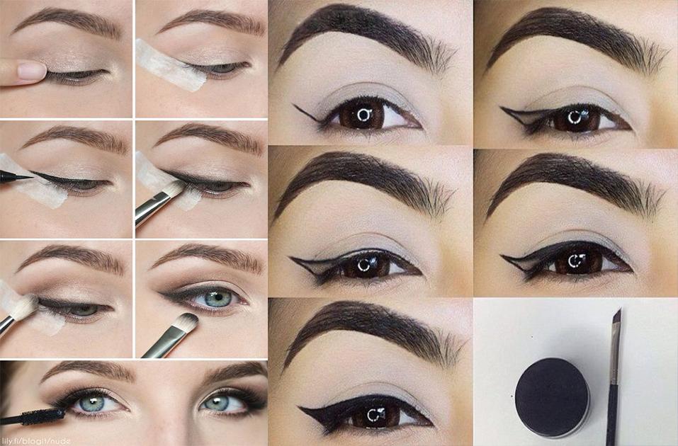 အခုမွ Eyeliner စဆိုးမယ့္သူေတြအတြက္ Eyeliner တစ္ေခ်ာင္းရွိရံုနဲ႔ လွပတဲ့ မ်က္ဝန္းေလးတစ္စံု ပိုင္ဆိုင္ေစဖို႔ နည္းလမ္းေလးေတြ