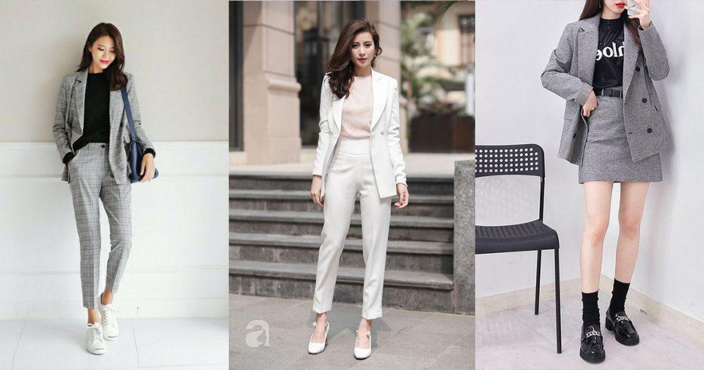 ဖက္ရွင္ Trend တစ္ခုျဖစ္လာတဲ့ Suit ဖက္ရွင္အလန္းေလးေတြ