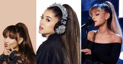 Pony Tail ဆံပင္စတိုင္လ္ေလးကို သေဘာက်တဲ့သူေတြအတြက္ Ariana Grande ရဲ႕ ဆံပင္စတိုင္လ္ေလးေတြ