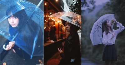 မိုးေရထဲမွာ ထီးေလးတစ္ေခ်ာင္းနဲ႔ ဓာတ္ပံုရိုက္ၾကမယ္