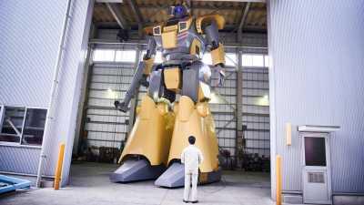 Anime-Inspired က ကမာၻ႔ အႀကီးဆံုး လူသား ေမာင္းႏွင္လို႔ရတဲ့ စက္ရုပ္အျဖစ္ မွတ္တမ္းဝင္