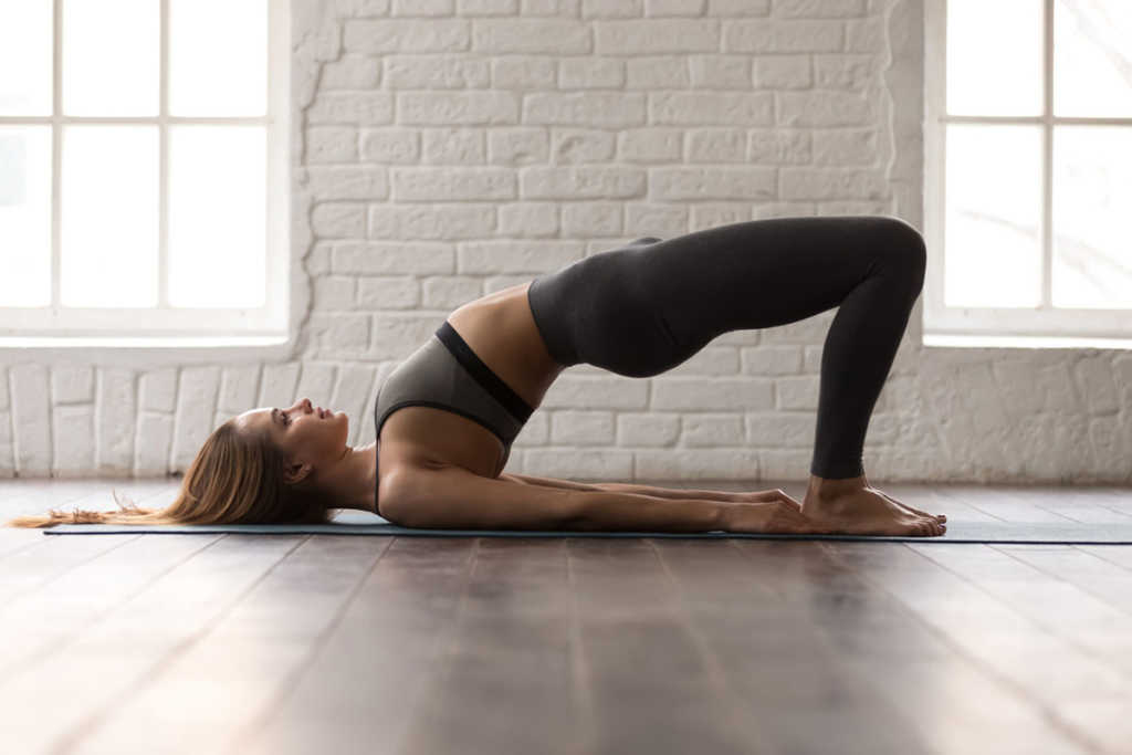 5 yoga postures that will help strengthen the bones and muscles.