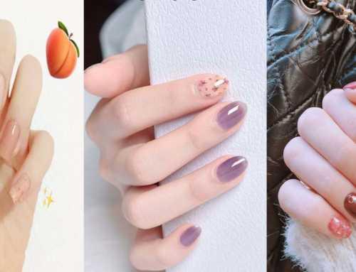 လက်သည်းနီအရောင်နုနုလေးတွေ သဘောကျတဲ့ မိန်းကလေးတွေအတွက် လက်သည်းနီပုံစံများ