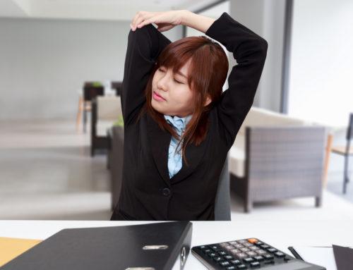 ရုံးမှာထိုင်နေရင်း ပြုလုပ်လို့ရတဲ့ လေ့ကျင့်ခန်းလေးတွေ