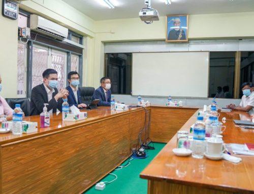 အခွန်အခတွေကို MytelPay နဲ့ အိမ်ကနေပဲ ပေးဆောင်လို့ရအောင် Mytel နဲ့ Yangon City Bank တို့ သဘောတူစာချုပ်လက်မှတ်ရေးထိုး