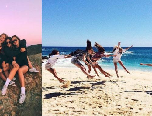 သူငယ်ချင်းတွေအုပ်စုလိုက် ခရီးထွက်ဖြစ်တဲ့အချိန် Pose လှလှလေးပေးနိုင်ဖို့ အိုင်ဒီယာများ
