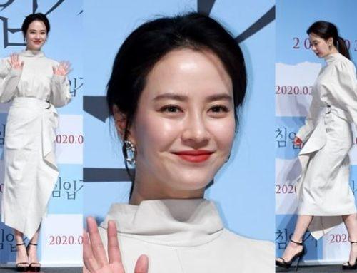 Running Man မင်းသမီးလေးSong Ji Hyo ရဲ့အဖြူရောင်ဖက်ရှင်များ