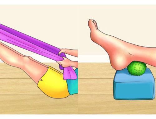 ခြေမျက်စိနာတာ၊ ခြေထောက်နာတာကိုသက်သာစေမယ့် လေ့ကျင့်ခန်းများ