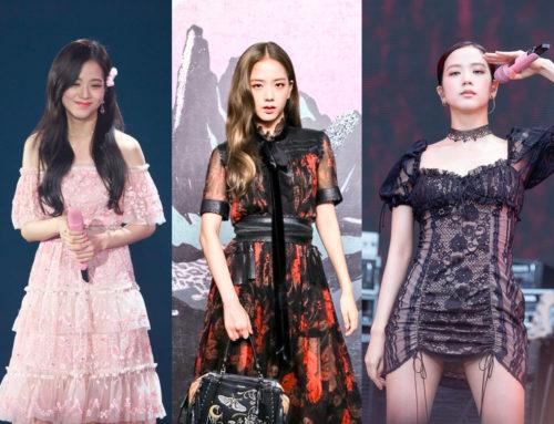 BLACKPINK အဖွဲ့ဝင် Jisoo ရဲ့ လှပကြော့ရှင်းတဲ့ Dress ဖက်ရှင်များ