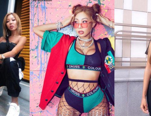 """ကိုးရီးယား အမေရိကန် Rapper Nuna """"Jessi"""" ရဲ့ ခပ်မိုက်မိုက် ဖက်ရှင်များ"""