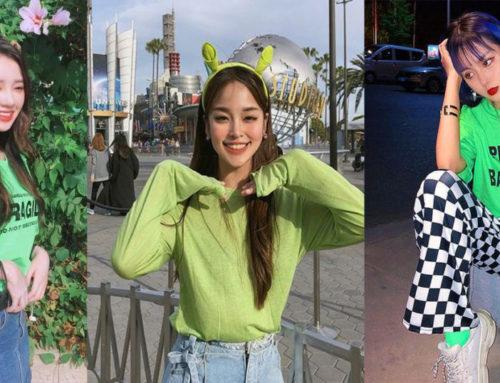 အစိမ်းရောင်ကို Crazy ဖြစ်တဲ့ပျိုမေတို့အတွက် Outfit ပုံစံများ