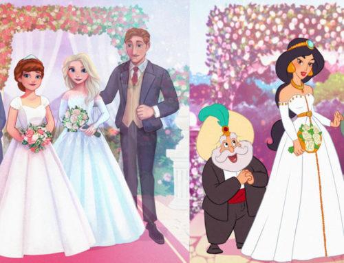 Disney မင်းသမီးလေးတွေရဲ့ မင်္ဂလာနေ့မြတ်မှာ မိဘနှစ်ပါးသာ ရှိခဲ့ရင် ဘယ်လိုပုံစံဖြစ်နေမလဲ