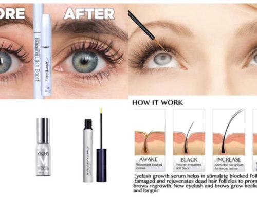 မျက်တောင်မွှေးတွေသိသိသာသာရှည်လာစေမယ့် အကောင်းဆုံး Eyelash Growth Serum များ
