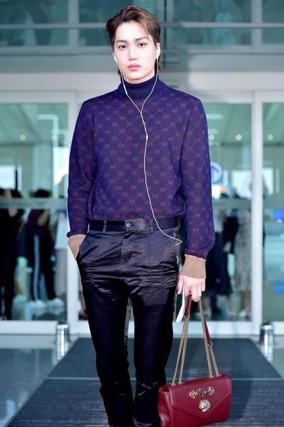 EXO Kai ရဲ့ ချစ်ဖို့ကောင်းသလို စတိုင်လ်လည်းကျတဲ့ Airport ...