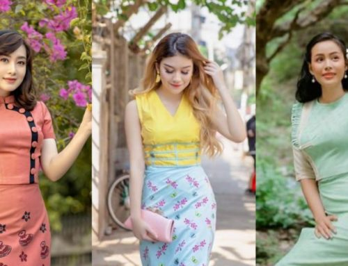 မြန်မာဆန်ဆန်ဖက်ရှင်ကိုမှ သဘောကျတဲ့ပျိုမေလေးတွေအတွက် မြန်မာဝတ်စုံဒီဇိုင်းများ (၃)