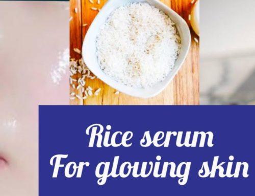 Glow Skin ပိုင်ဆိုင်ဖို့ ဆန်ကို အသုံးပြုပြီး အိမ်မှာပဲ Rice Face Serum ပြုလုပ်နည်း