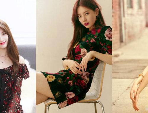 ကိုးရီးယားအနုပညာရှင် Suzy ရဲ့ Floral Dress ဖက်ရှင်များ