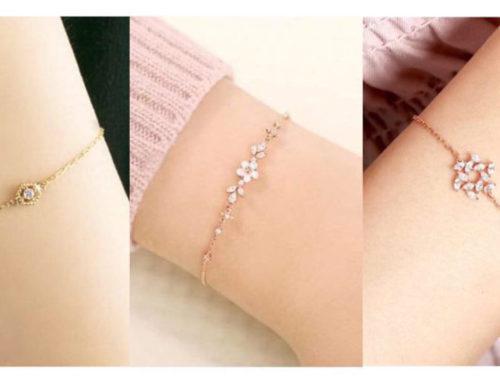 လူငယ်ကောင်မလေးတွေအတွက်ချစ်ဖို့ကောင်းတဲ့ bracelet သေးသေးလေးတွေ