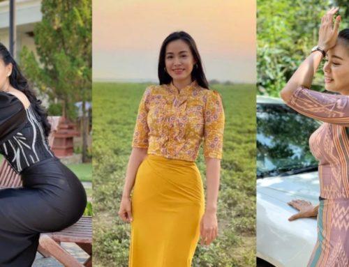 မြန်မာဝတ်စုံလေးတွေကို ယဉ်ယဉ်လေး ဝတ်ဆင်တတ်တဲ့ အေးဝတ်ရည်သောင်းရဲ့ ဖက်ရှင်တွေ