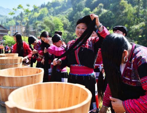 Huangluo ရွာ (သို့) ကမ္ဘာ့ဆံပင်အရှည်ဆုံး အမျိုးသမီးများနေတဲ့ရွာ