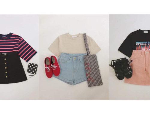 တီရှပ်လေးတွေနဲ့ချစ်ဖို့ကောင်းတဲ့ကိုရီးယား outfit ideas များ