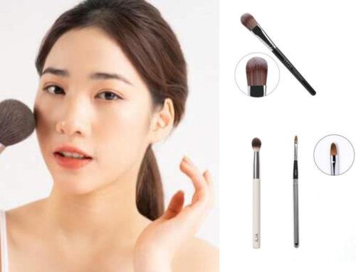 မိတ်ကပ်ပြင်ဖို့အတွက်အဓိကလိုအပ်တဲ့ Makeup Brush (၅) မျိုး